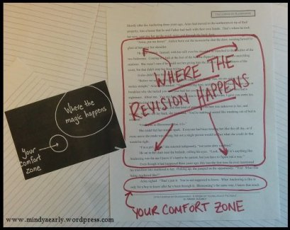 How do we push ourselves to make the BIG revisions that are necessary?