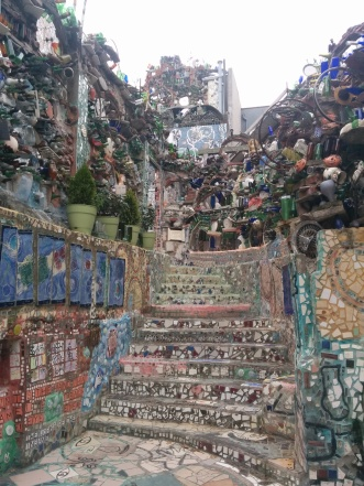 My favorite view of the Magic Gardens - look at those gorgeous layers.