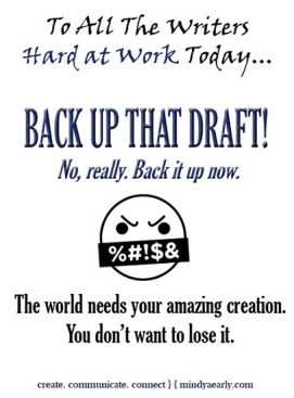 To All the Writers (Back Up Draft)